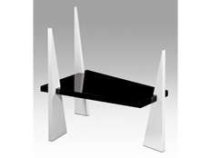 Black and White Table- L